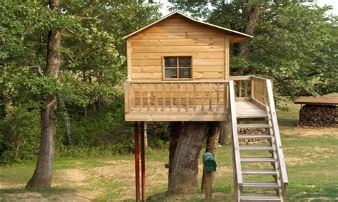 simple tree house design plans easy  build tree house