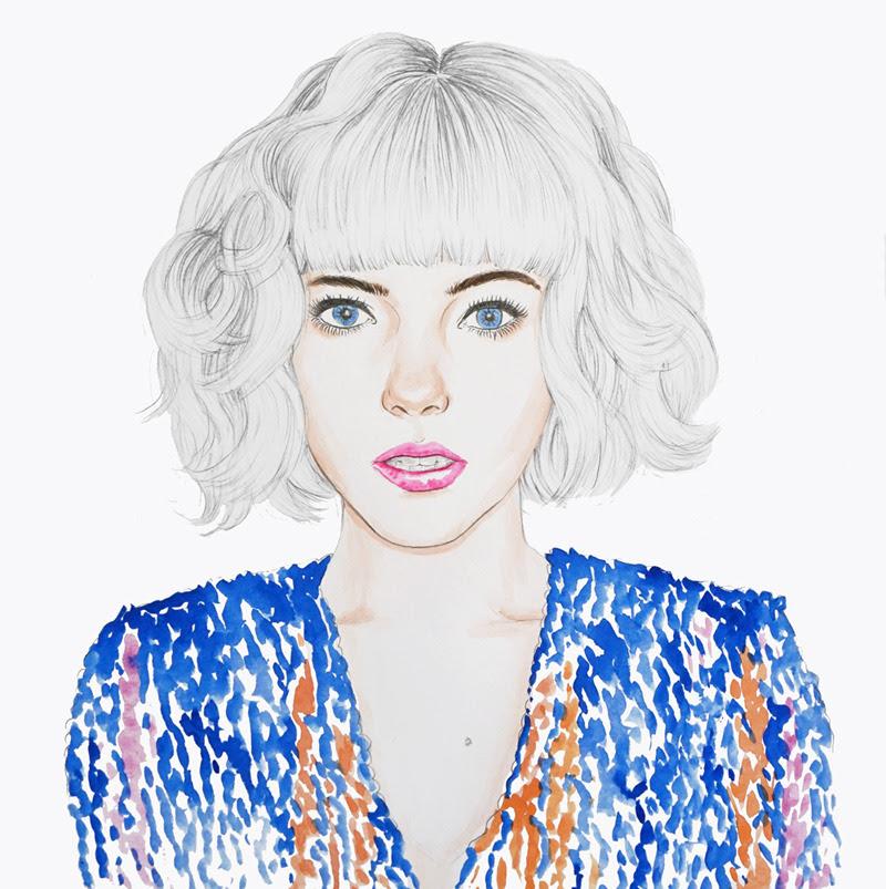 Portrait pour la nouvelle bannière du blog de Stella.http://www.stellaswardrobe.com/