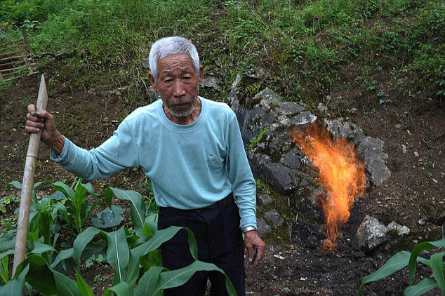 Villagers need to be careful when working in the fields because even a single spark from a metal farming tool striking a stone can cause the air to literally burst into flames