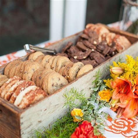 Perfectly Rustic Wedding Desserts   OneWed