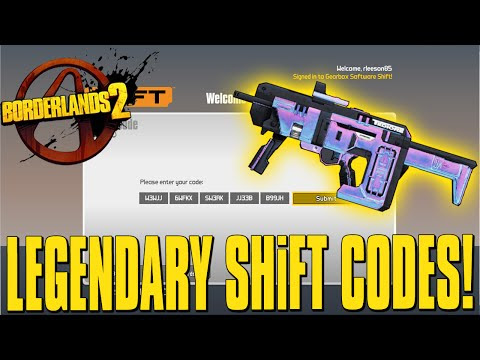 borderlands 2 shift codes 25 keys