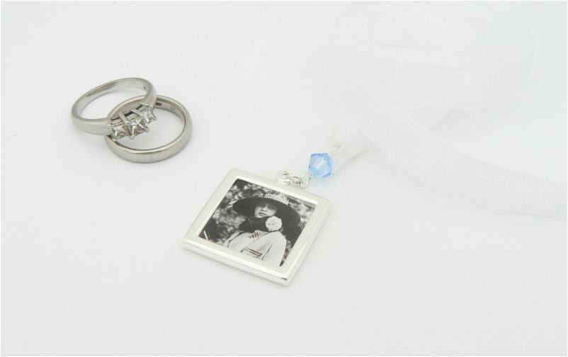 Picture Frame Bouquet Charm Wedding Bouquet Charm Ideas