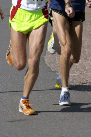 Runners strive for temporary glory.
