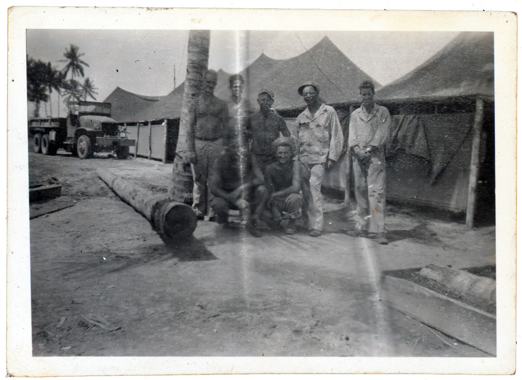 Crew in the South Seas
