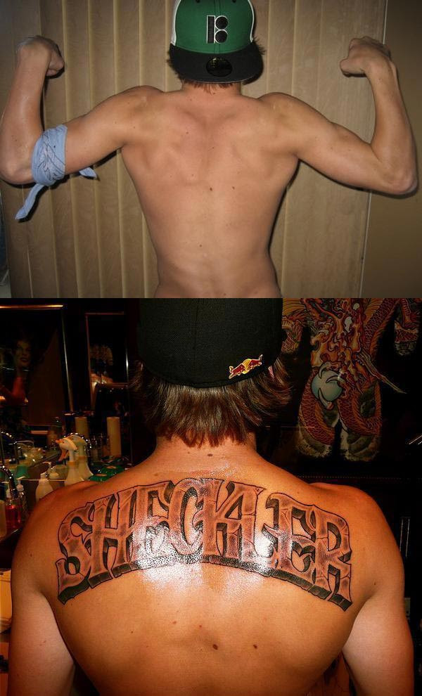Thepanday sheckler tattoo for Cheap tattoos nyc