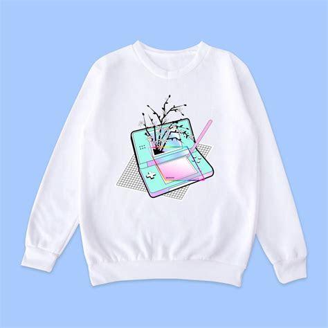 vaporwave tumblr aesthetic nintendo jumper gimme