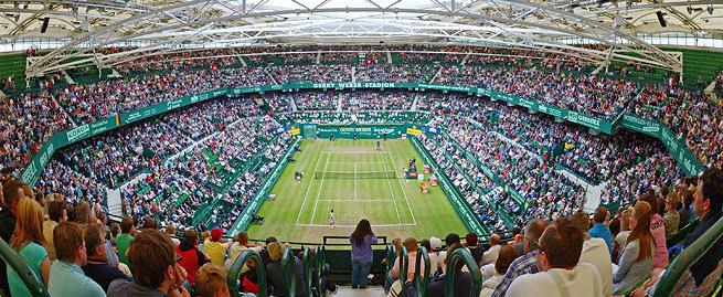 Resultado de imagen de gerry weber open stadion