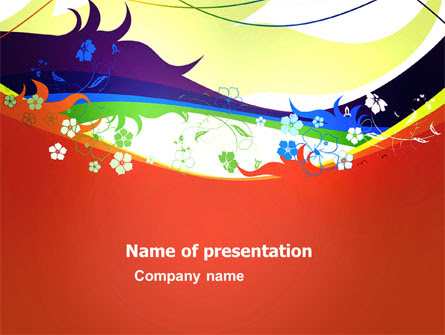 Artistic Design Presentation Template For Powerpoint And Keynote Ppt Star