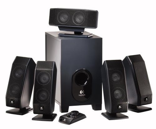 Logitech X-540 5.1 Surround Sound Speaker System
