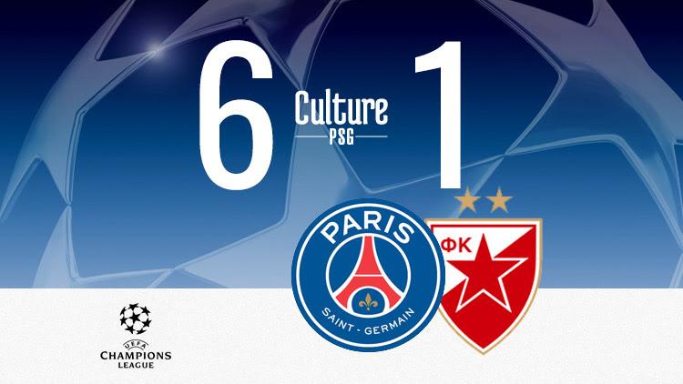 Match Psgetoile Rouge 6 1 Le Résumé Vidéo Culturepsg