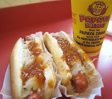 Green Papaya New York Hot Dogs