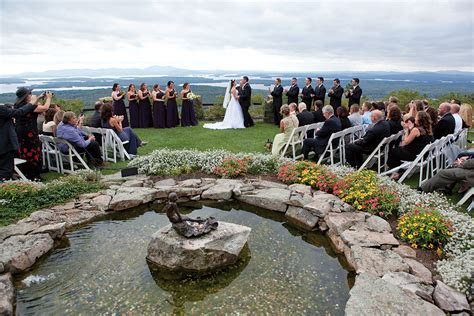 Wedding Venues in the Lakes Region, New Hampshire