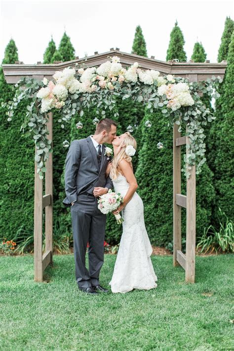 The Smarter Way to Wed   Wedding Arbors   Wedding trellis