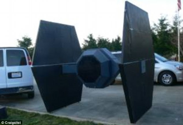 Craigslist Tie Fighter: Yours for just $150, death rays not included
