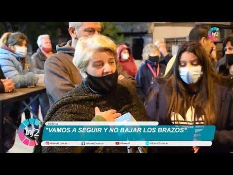 """Concentración de Vecinos tras la balacera en Pueblo Nuevo: """"No vamos a bajar los brazos"""""""