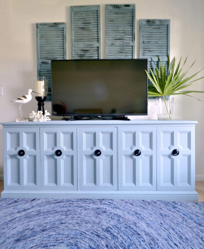 Pure and Original Paint Barbados Blue One Room Challenge