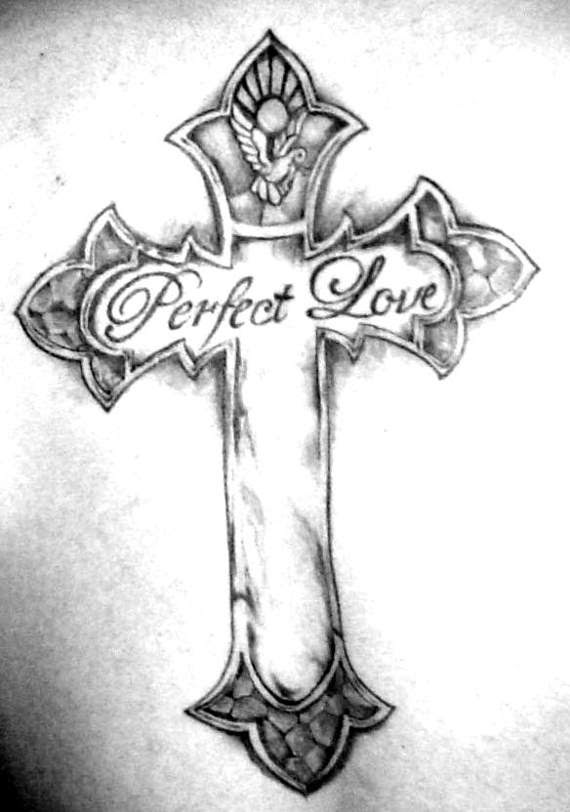 90 DIFFERENT STYLES OF MAKING A CROSS TATTOO ...