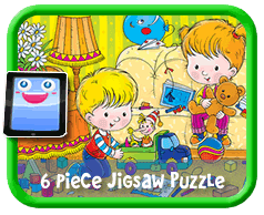 Kids Playing Online jigsaw puzzle for kids