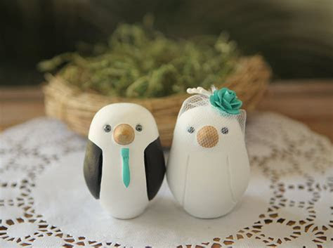 etsy   unique cake toppers   Something Turquoise