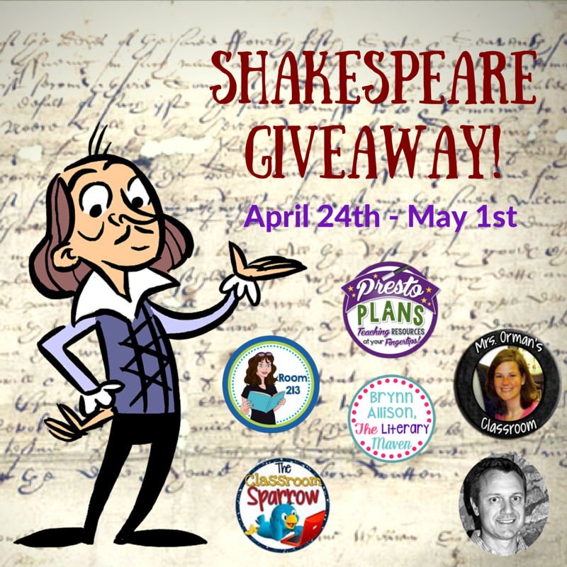 Shakespeare Giveaway