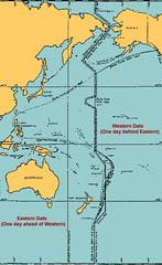 Kedudukan Australia Yg Hampir Dgn Garisan Tarikh Antarabangsa