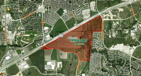 nebraska furniture mart sparking land deals   colony