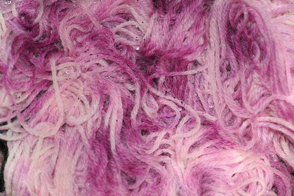 wool snow-dye