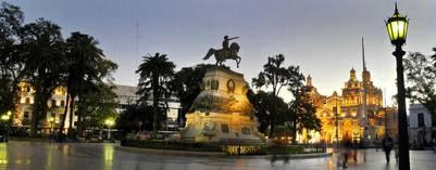 Plaza San Martín.
