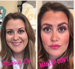 makeup dos and donts  hair highlight trends