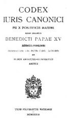 1917 Code of Canon Law