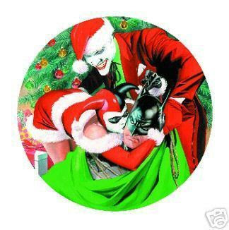 Alex Ross Christmas Plate from 2005