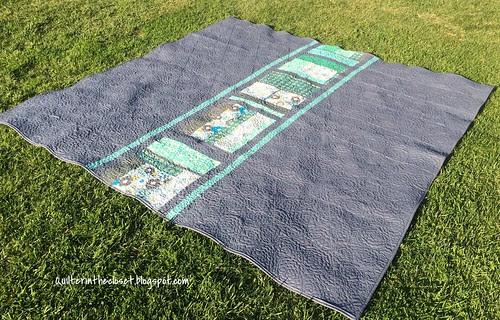 Commission quilt back