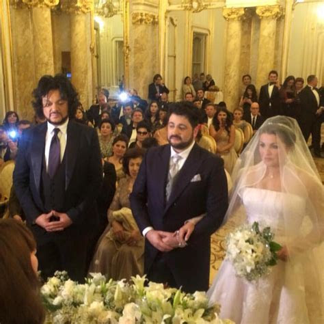 Anna Netrebko and Yusif Eyvazov's Wedding   Arabia Weddings