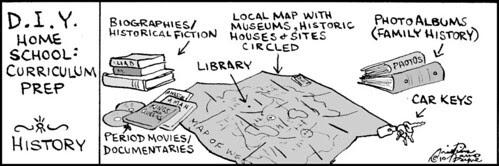 Home Spun comic strip #509