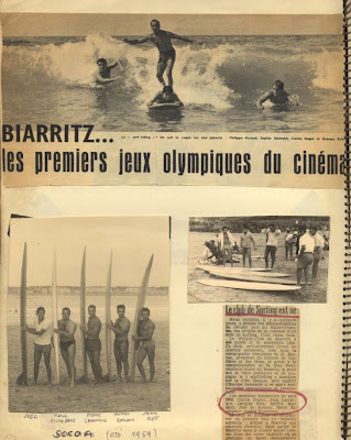 biarritz  homenajea al surf jacky rott, michel barland o joël de rosnay, zanuck
