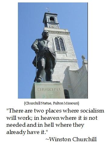 Winston Churchill, Socialism