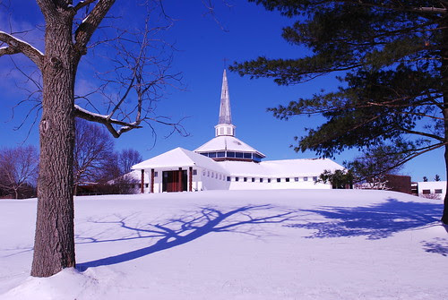 Chapel in winter