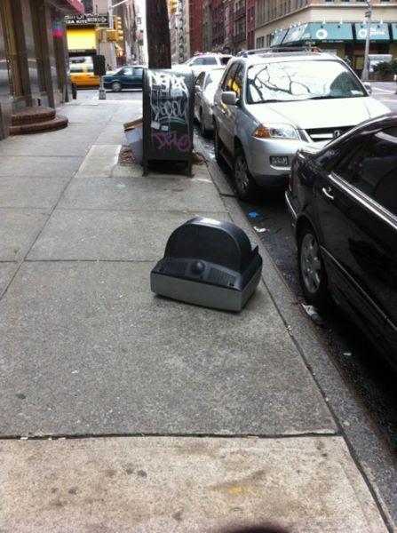 Really Unhappy Street Junk