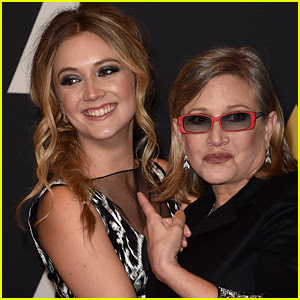Billie Lourd Remembers Late Mom Carrie Fisher on Mother's Day