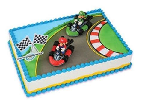 Super Mario Brothers Racing Cake Kit ? Christy Marie's