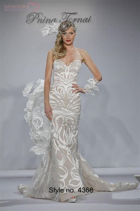 Pnina Tornai 2015 Spring Bridal Collection   The FashionBrides