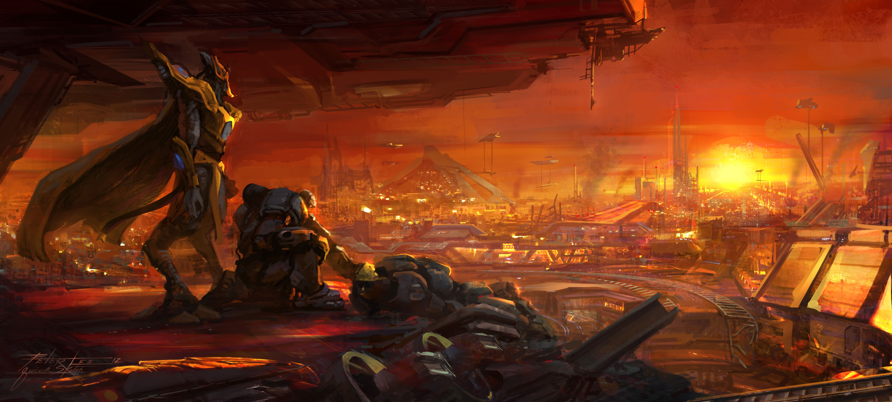Starcraft 2 Legacy Of The Void Wallpaper 3