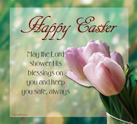 For A Safe And Blessed Easter. Free Happy Easter eCards