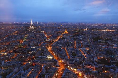 Paris skyline, France by Luke,Ma, on Flickr