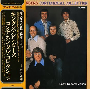 KINGS SINGERS, THE continental collection