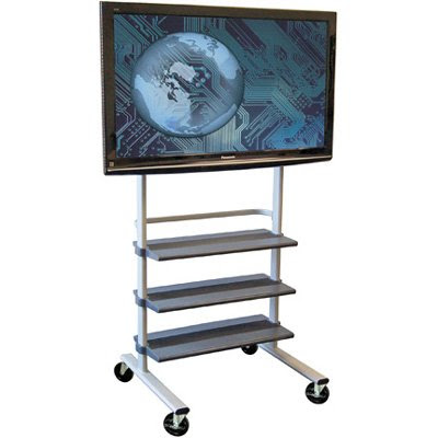 Luxor WFP100 Versatile Mobile LCD TV Mount and Flat Panel Display ...