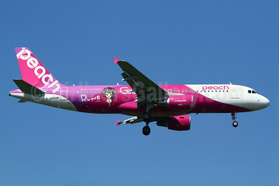 Peach Aviation (Japan) Airbus A320-214 JA809P (msn 5640) (Girls Award - Rune - Roots of Kawaii) TPE (Manuel Negrerie). Image: 921029.