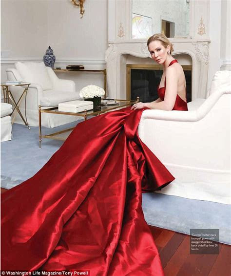 Louise Linton poses for cover of DC society magazine