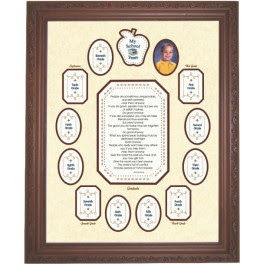 My School Years Photo Mat Apple Unframed 2500a Ivy Hill Productions