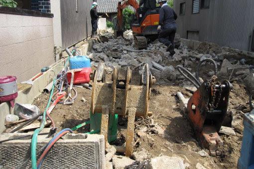 中川の家 解体